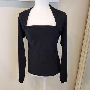 Moda International Square Neck long sleeve top